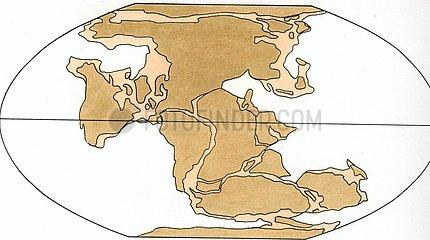 Kontinentenverschiebung 3 Perm