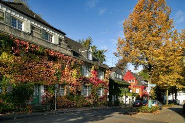 Essen  Deutschland  Gartenstadt Margarethenhoehe