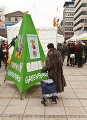Greenpeace in Stuttgart