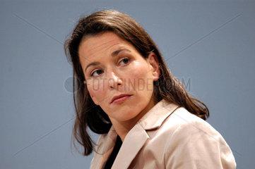 1. Oekumenischer Kirchentag: ARD Tagesthemen Moderatorin Anne Will