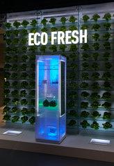 Berlin  Deutschland  Praesentation der Eco Fresh Technik der Kuehlschraenke von Panasonic