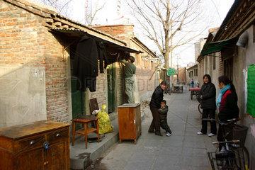 Peking / Beijing - Hutongs - Altbauten