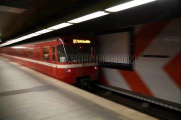 U-Bahn Nuernberg