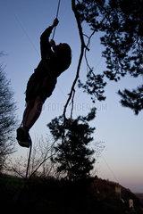 Klettern am Baum