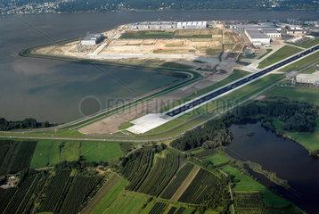 Airbus Werk Hamburg Finkenwerder - Startbahn