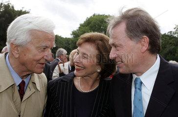 25.06.2004 Sommerfest des Bundespraesidenten