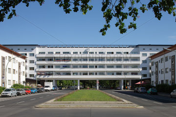 Berlin  Deutschland  die Weisse Stadt in der Aroser Allee in Berlin-Reinickendorf