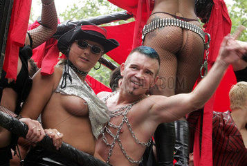 Christopher Street Day  Berlin: Wagen des Kitcatclubs