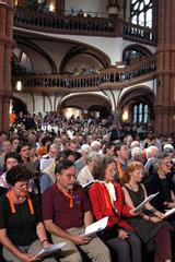 1. Oekumenischer Kirchentag: Oekumenischer Gottesdienst mit offener Kommunion