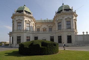 Schloss Belvedere Seitenansicht