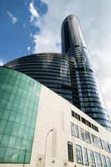 Breslau  Polen  der Sky Tower