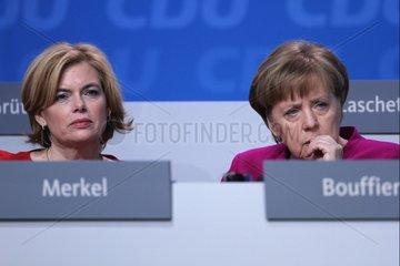 Julia Kloeckner und Angela Merkel