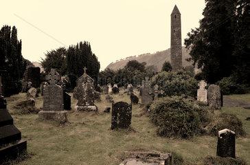 Klosteranlage von Glendalough  Irland