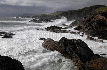 Wildes Meer vor Achill Island  Irland