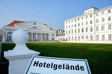 Garten des Kempinski Grand Hotel Heiligendamm