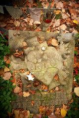 Berlin  Deutschland  Grabstein von Rio Reiser auf dem Alten St.-Matthaeus-Kirchhof Berlin