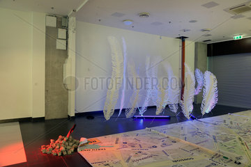 Tallinn  Estland  Kunstausstellung im Rotermann Viertel