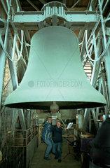 Neue Musik Biennale Hannover 2001 Glockenkonzert - Aufgang Glockenturm Marktkirche