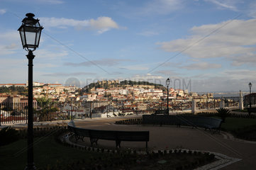 Aussicht vom Miradouro Sao Pedro