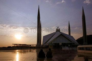 Schah-Faisal-Moschee  Islamabad