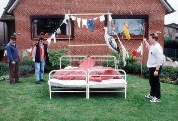 Hochzeitsbett