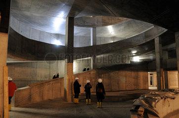 Elbphilharmonie Hamburg Innenraum  Parkhausspindel