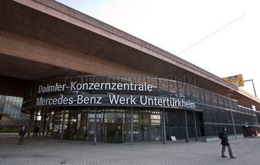 Mercedes Benz Werk  Untertuerkheim