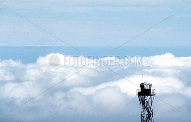 Teneriffa - Feuerwachturm in der Canadas (Hochebene am Teide)