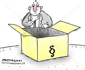 Paragraphen box leer