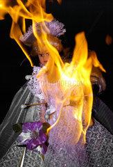 Burning Barbie