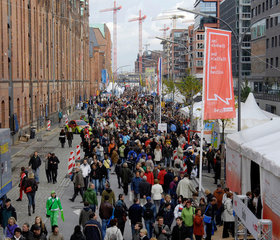 Feier zum Tag der deutschen Einheit 2008 in Hamburg