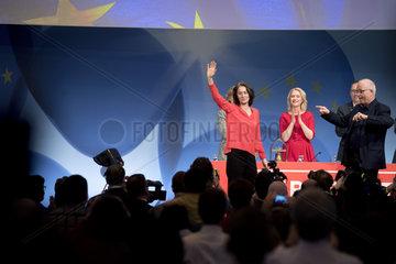 Katarina Barley  Udo Bullmann - SPD Europa Konvent