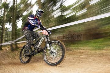Moutainbike Downhill Race