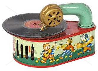 Kindergrammofon von Bing  Nuernberg  1951
