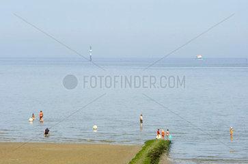 Nordseekueste bei Cuxhaven