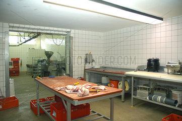 Schlachterei Werkstatt