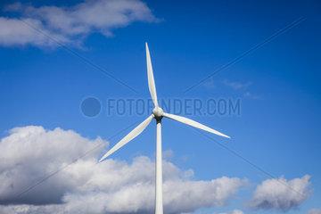 Windrad  Ense  Nordrhein-Westfalen  Deutschland