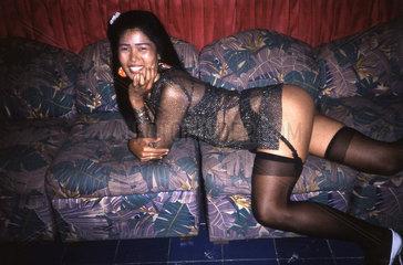 Prostituierte in Thailand  Club in Pattaya