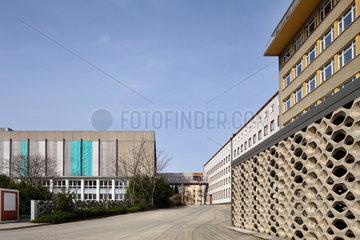 Berlin  Deutschland  Gebaeude der Forschungs- und Gedenkstaette Normannenstrasse