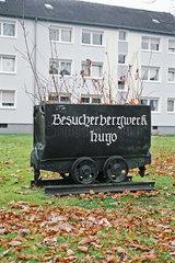 Bargbaudenkmal im Ruhrgebiet