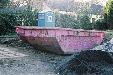 Container im Ruhrgebiet