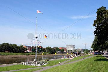 Bremen  Weserpartie