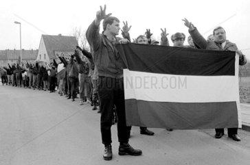 Neonazi-Aufmarsch in Hameln
