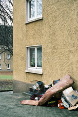 Sperrmuell im Ruhrgebiet