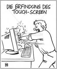 Erfindung des Touch-Screen