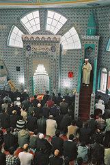 Gottesdienst in Moschee