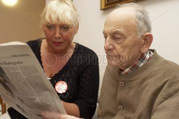 Vorlesen im Altenheim