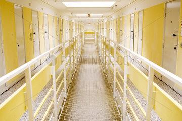 Gang in der Haftanstalt