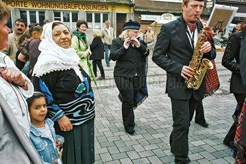 Stadtteilfest im Ruhrgebiet
