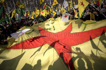 Afrin  Turkey-Kurds-Conflict Demo